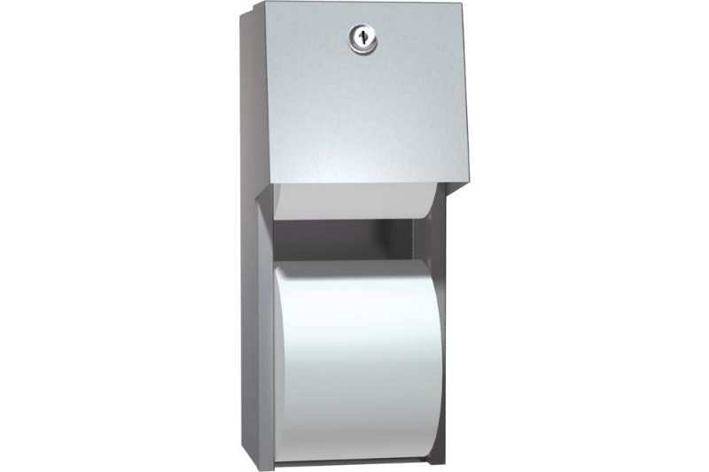 Asi 0030 Double Toilet Tissue Dispenser Surface