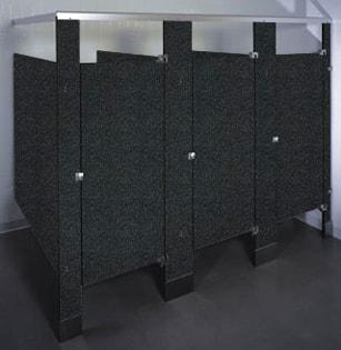 Phenolic Black Core bathroom stalls
